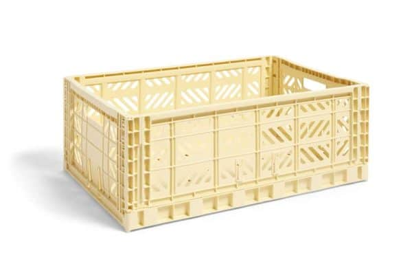 HAY Colour Crate L kasse - Yellow