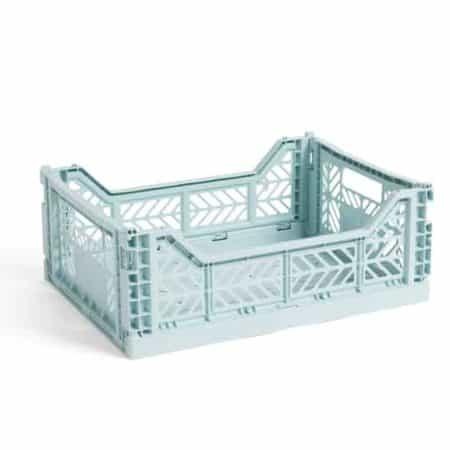 HAY Colour Crate M kasse - Arctic Blue