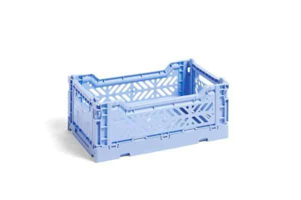 HAY Colour Crate M kasse - Light blue