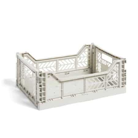 HAY Colour Crate M kasse - Light grey
