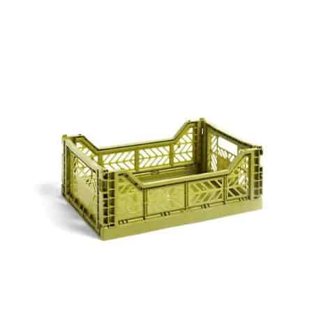 HAY Colour Crate M kasse - Olive