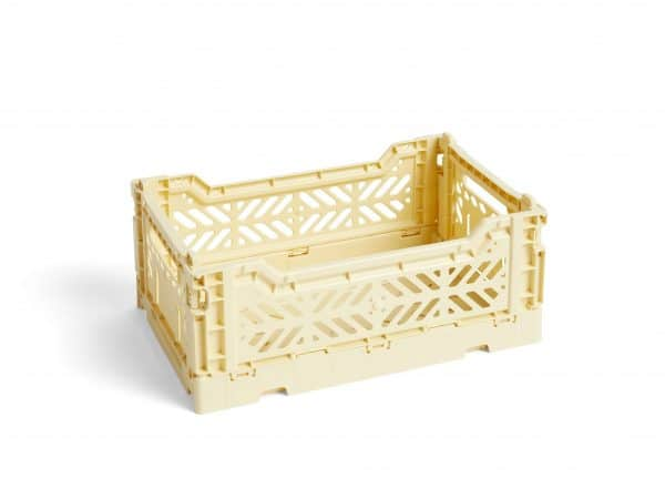 HAY Colour Crate M kasse - light yellow