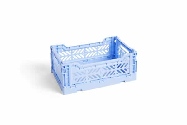 HAY Colour Crate S kasse - Light Blue