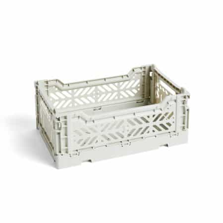 HAY Colour Crate S kasse - Light Grey