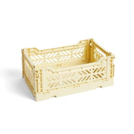 HAY Colour Crate S kasse - Light Yellow