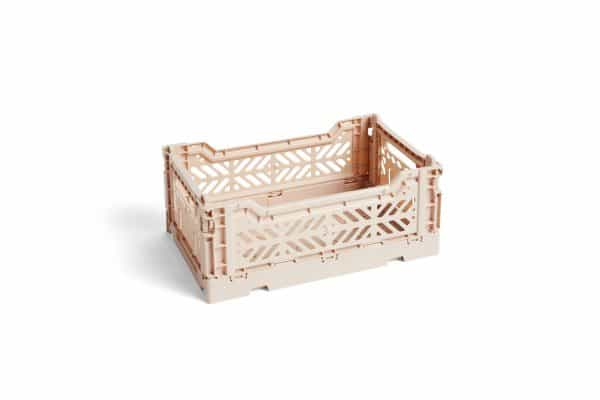 HAY Colour Crate S kasse - Soft Pink