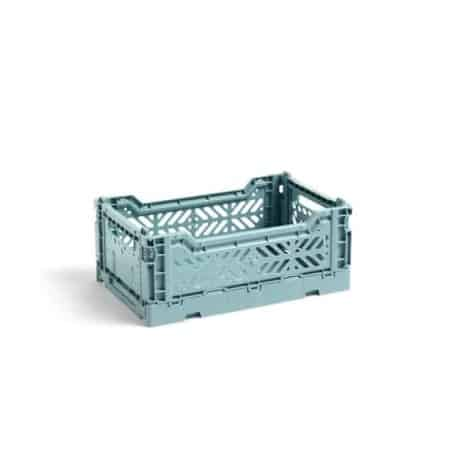 HAY Colour Crate S kasse - Teal