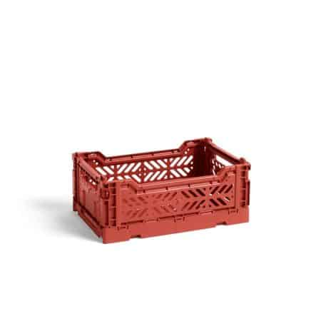 HAY Colour Crate S kasse - Terracotta
