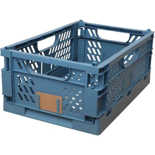 Opbevaringskasse foldbar 50x33 blue