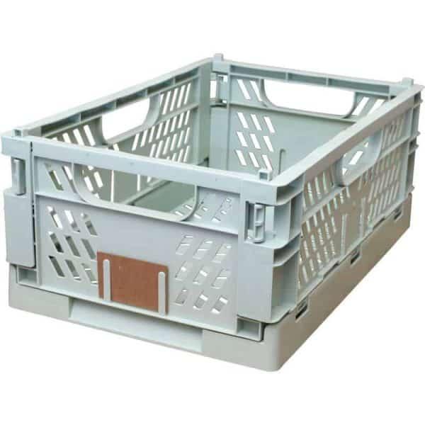 Opbevaringskasse foldbar 50x33 cm mint grøn